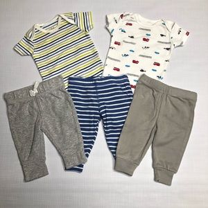 Carters Infant Bodysuits and Pants Gender Neutral